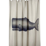 Shower Curtain, Whale