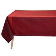 Ottomane Burgundy Linen