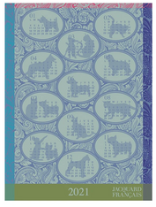 Calendar 2021 Kitchen Towel