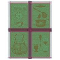 Oeufs Cuissons Emerald Kitchen Towel
