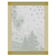 Sommets Enneiges Snow Kitchen Towel