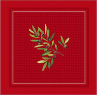 Olive Nyons Red Napkins