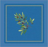Olive Nyons Blue Napkins
