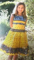 Girl Dress - Yellow