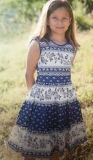 Girl Dress - Blue