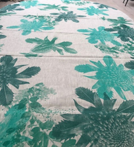 Green Bird Tablecloth