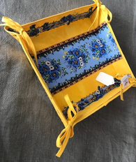 Vide Poche Tray, Yellow and Blue