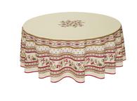 Avignon Ecru Coated Tablecloth