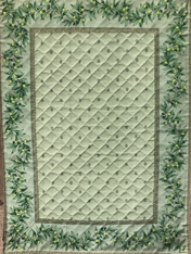 Olive Quilted Placemat