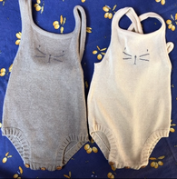 Baby Romper - Crossed or straight straps