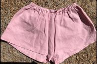 Linen Short - Pink