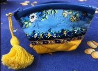 Coin Purse - Blue / Yellow
