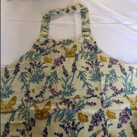 Butterfly Apron - Blue