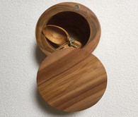 Wooden Salt Box