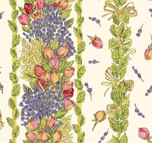 Rectangular Tablecloth Detail