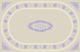 Oval Print Rectangular