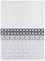 Transparence Kitchen Towel Linen Grey