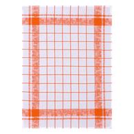 Fraises Kitchen Towel Orange