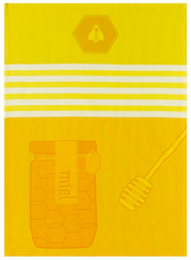 Miel Yellow Kitchen Towel