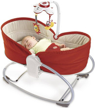 'Tiny Love' 3 in 1 Rocker Napper - Red Rouge