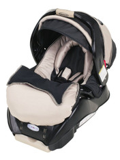 'Graco' SnugRide Classic Connect Car Seat- Platinum