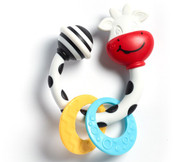 'Tiny Love' TS Tiny Cow Teether Rattle
