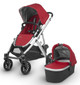Denny (Red/Silver/Black Leather)
