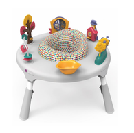 'Oribel' PortaPlay 4-in-1 Foldable Activity Center - Turn, Bounce, Play, Transform - Wonderland Adventures
