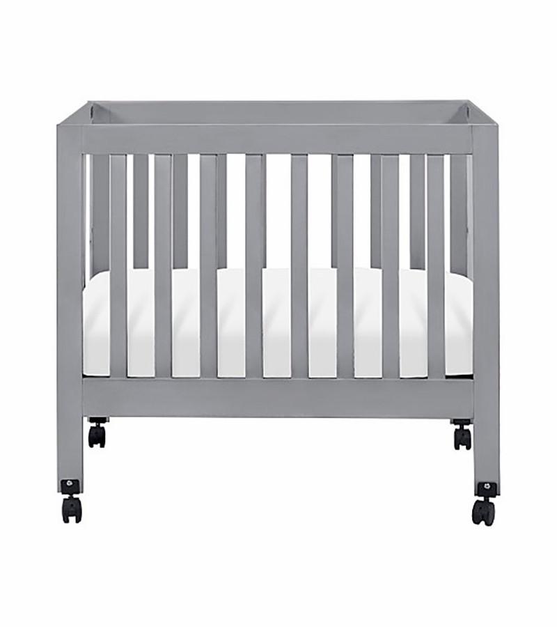 Babyletto Origami Mini Crib Mattress   Crate and Barrel   900x800