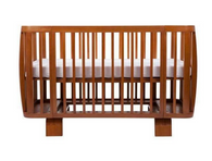 'Bloom' Retro Solid Wood Crib