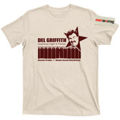 Del Griffith Planes Trains and Automobiles John Candy Hughes Movie T Shirt