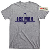 US Navy Top Gun Movie ICE MAN T SHIRT