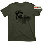 Tropic Thunder Kirk Lazarus I'm The Dude Playin the Dude Movie Tee T Shirt