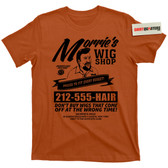 Morries Wigs Wig Shop Goodfellas movie Mob Boss Mobster Mafia T Shirt