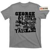 George Jones Possum White Lightning Drinking Liquor Moonshine T Shirt