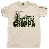Get To Da Choppa Predator 1987 T Shirt