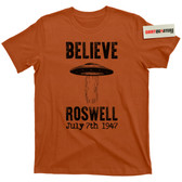 Roswell New Mexico Cover Up 1947 UFO Flying Saucer Conspiracy T Shirt