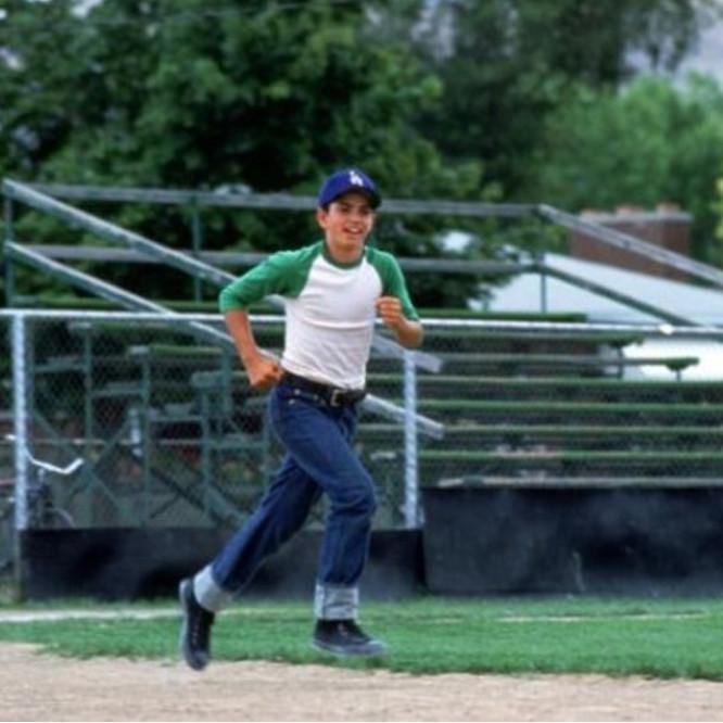 Benny The Jet Rodriguez Sandlot Baseball Great Bambino Movie Tee T Shirt