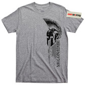 The 300 Molon Labe Spartan Helmet T Shirt