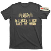 Whiskey River Take My Mind Willie Nelson Pancho & Lefty Moonshine Bourbon T Shirt