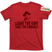 Leave the Gun Take the Cannoli Godfather Part II 2 Trilogy Peter Fat Clemenza T Shirt