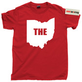 THE OHIO STATE CAPITAL BUCKEYES FOOTBALL T SHIRT