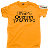 Written and Directed by Quentin Tarantino movies films tee t shirt
