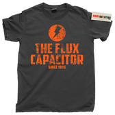 Back to the Future Flux Capacitor 1.21 Gigawatts 88 MPH Trilogy tee t shirt