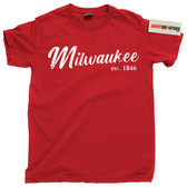 City of Milwaukee Wisconsin WI cheese tools beer home brewers tee t shirt