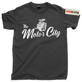 Detroit Rock Motor City Motown Michigan MI Henry Ford tee t shirt
