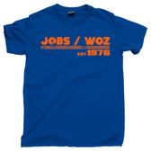 Steve Jobs and Steve Wozniak est 1976 Silicon Valley Retro Vintage Tee T Shirt