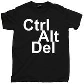 Control Alt Delete ctrl alt del  Yourself PC Mac Personal Computer Tee T Shirt