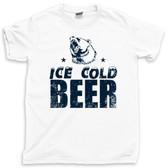 Ice Cold Beer Pong Spring Break Summer 2021 Keg Stand Beach Cooler Tee T Shirt