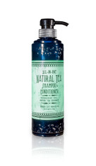All-in-One Natural Tea Shampoo & Conditioner (Peppermint and Green Tea)